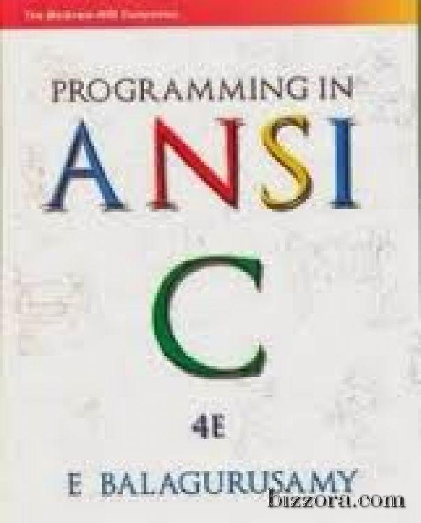 ANSI C / ANSI C++  -Balagurusamy